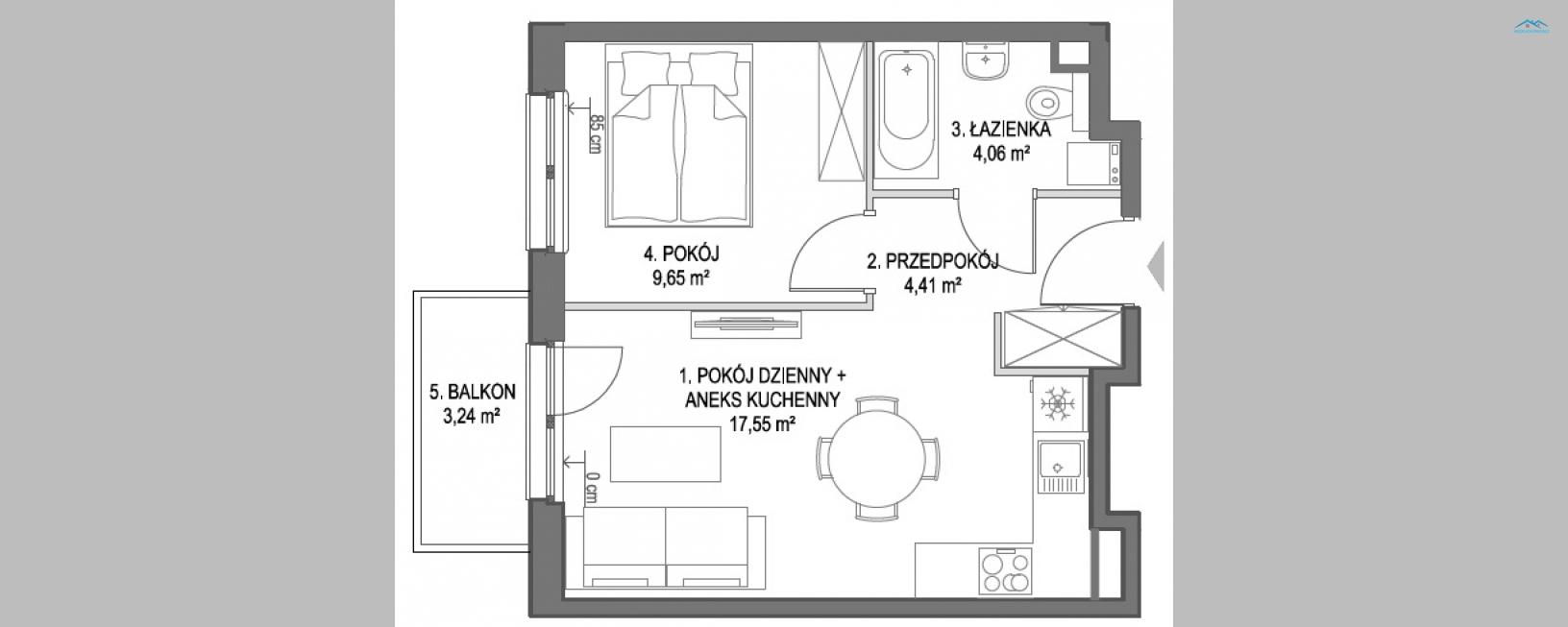 Mieszkanie deweloperskie na Osiedlu Kociewskim